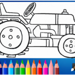 tractor-coloring-page