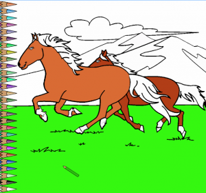 beautiful-horses-coloring