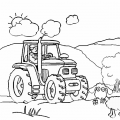 cute-tractor-coloring