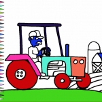 tractor-in-the-farm