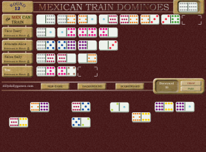 Mexican Train Dominoes_june_18th_2008